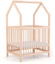 Geuther Cozy-Do 4-in-1 Playpen 75 x 100 cm untreated wood