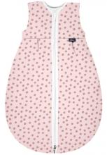 Alvi Sleeping bag Mäxchen-Thermo Organic Cotton Curly Dots 80 cm
