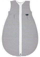 Alvi Sleeping bag Mäxchen-Thermo Organic Cotton Ringlets 100 cm navy