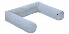 Alvi Bumper round Special Fabric Quilt aqua