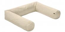 Alvi Bumper round Special Fabric Quilt nature