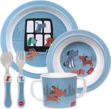Sigikid 25244 Melamine tableware set blue