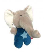 Sigikid 42796 Rattle elephant RedStars