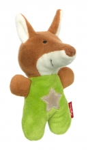 Sigikid 42797 Rattle fox RedStars