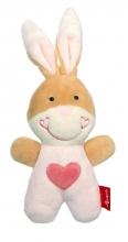 Sigikid 42804 Rattle bunny RedStars