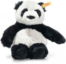 Steiff 075643 Panda Ming 20cm black/white