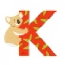 Sevi Holzbuchstabe K 81611